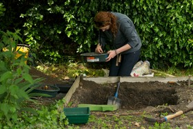 sieving for small finds