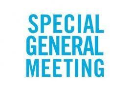 Special General Meeting – 27 September