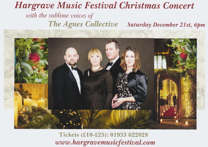 Hargrave Christmas Concert – 21st December 2019