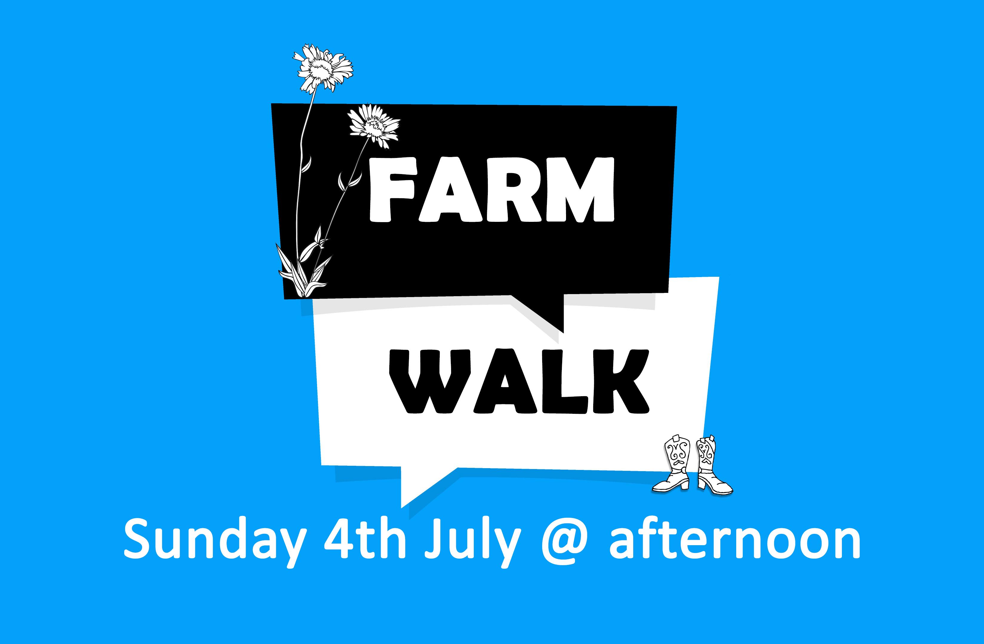 Farm Walk Poster
