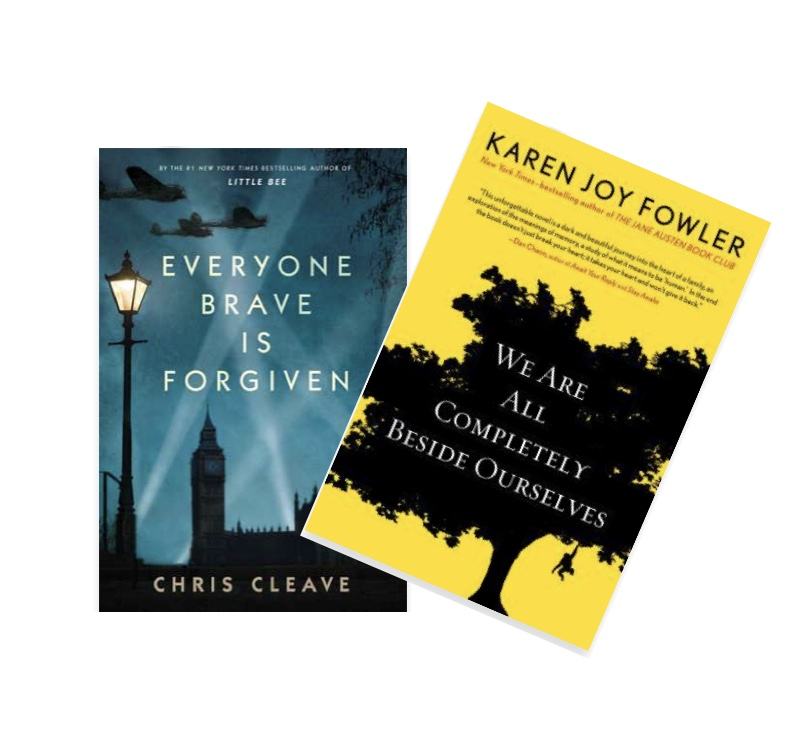 What we thought of the books we read in April