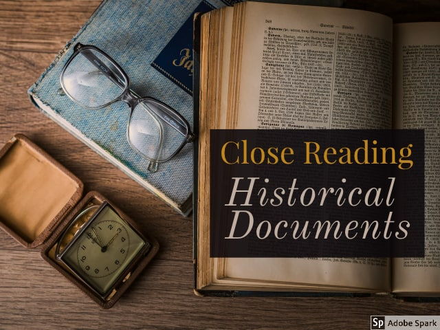 Document Reading – 9 March 2020