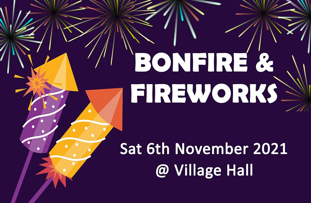 Bonfire & Fireworks November 2021